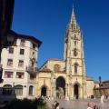 catedral Oviedo cathedral Camino de Santiago Primitivo