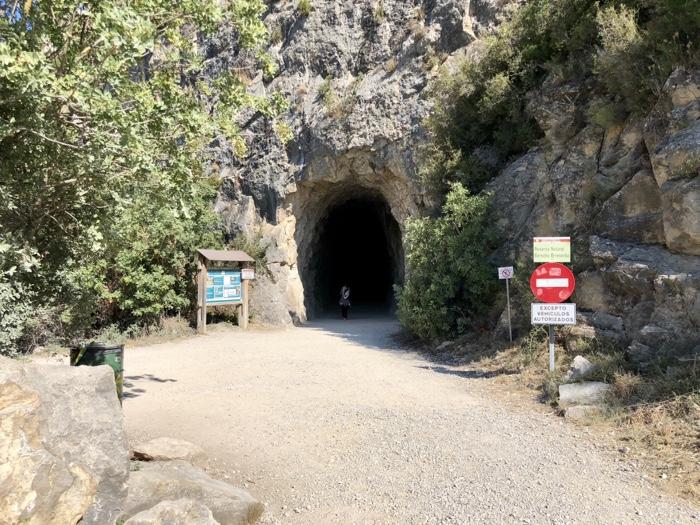 Boca de la Foz de Lumbier. Camino de Santiago Aragonés.