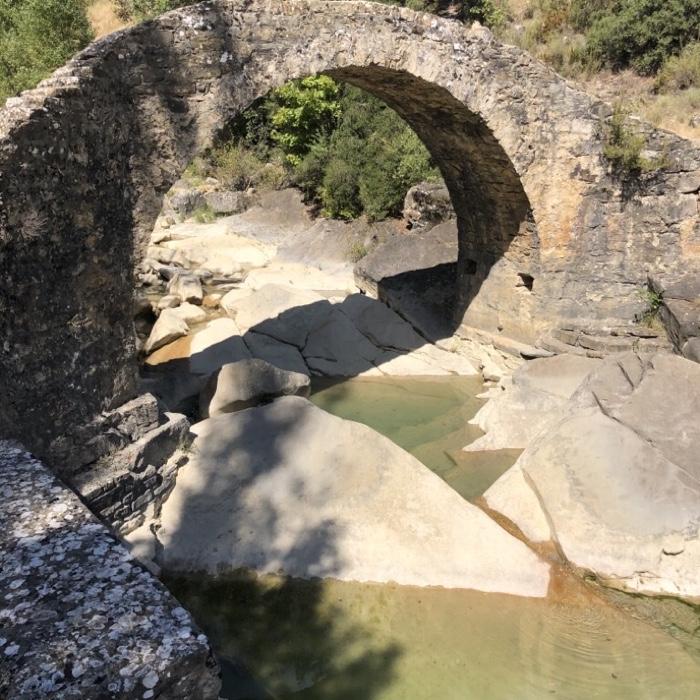 paseo Pirineo aragonés Aragón Boltaña badina