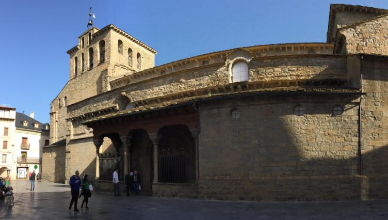 Jaca Cathedral, Jaca Turismo, Camino de Santiago por Aragón