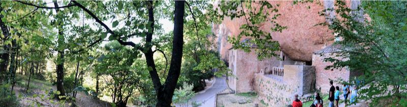 San Juan de la Peña Camino de Santiago Aragón