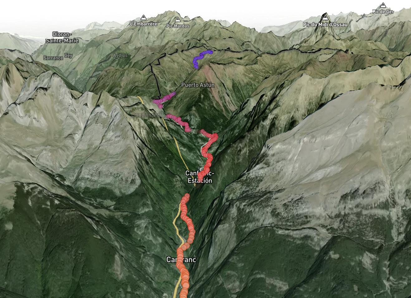 nuevos trucos #mapbox #knime #caminodesantiago #aragón #visualización